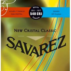 Струны для классической гитары Savarez 540CRJ New Cristal Classic