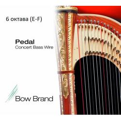 Струна Ми (E) 6-й октавы Bow Brand, металл, для педальной арфы