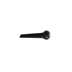 A021BK/2PVC Фиксатор струн черный с белой точкой