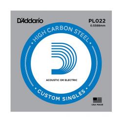 PL022 Plain Steel Отдельная струна без обмотки