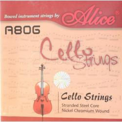 A806 Комплект струн для виолончели