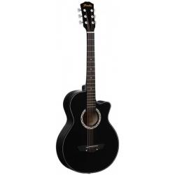 Акустическая гитара шестиструнная PRADO HS-3810/BK