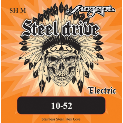 SH-M Steel Drive Комплект струн для электрогитары