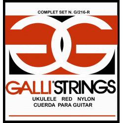 Струны для укулеле GALLI G216R