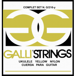 Струны для укулеле GALLI G216Y