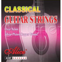 A107BK Комплект струн для классической гитары