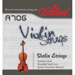 A706 Комплект струн для скрипки