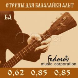 BA-Fedosov Комплект струн для балалайки альт