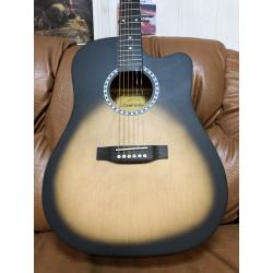 Гитара акустическая CREMONA D-685C/BKS