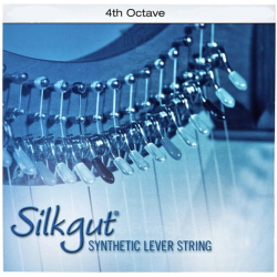 Струна Ми (E) 4-й октавы Bow Brand Silkgut, для леверсной арфы
