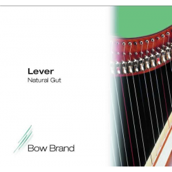 Струна Ми (E) 3-й октавы Bow Brand, жила, для леверсной арфы