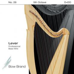 Струна Ре (D) 6-й октавы Bow Brand, с обмоткой (профессиональная)