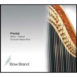 Струна Ре (D) 7-й октавы Bow Brand, с обмоткой (серебро)