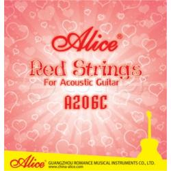 A206C-SL Super Light Комплект струн для акустической гитары