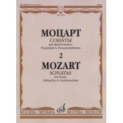 Моцарт В.А. Сонаты. Для фортепиано. В 3 выпусках. Вып.2 15979МИ, Музыка