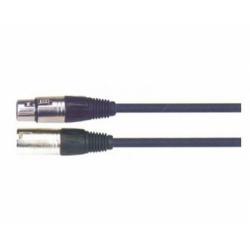 BB103-3M Кабель микрофонный, XLRm-XLRf, 3 метра, Soundking