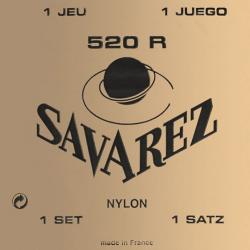 Carte Rouge Комплект струн для классической гитары, посеребренные, норм.натяжение, Savarez, 520R