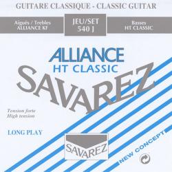 Alliance HT Classic Комплект струн для классической гитары, сильное натяжение, посереб, Savarez, 540J