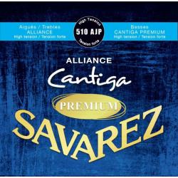 Alliance Cantiga Premium Комплект струн для классической гитары, сильное натяжение, Savarez, 510AJP