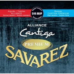 Alliance Cantiga Premium Комплект струн для классической гитары, смешанное натяж., Savarez, 510ARJP
