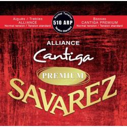 Alliance Cantiga Premium Комплект струн для классической гитары, норм. натяжение, Savarez, 510ARP