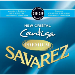 New Cristal Cantiga Premium Комплект струн для классической гитары, сильное натяж., Savarez, 510CJP