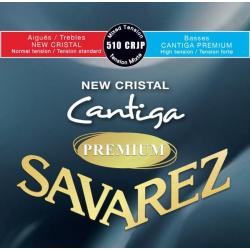 New Cristal Cantiga Premium Комплект струн для классической гитары, смешанное нат., Savarez, 510CRJP