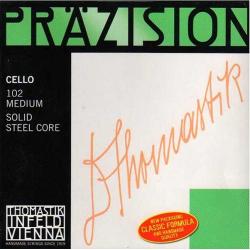 Precision 102 Комплект струн для виолончели размером 4/4, среднее натяжение, Thomastik