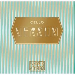 VE4142 Versum Отдельные струны A+D (Ля+Ре) для виолончели размером 4/4, Thomastik