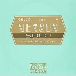 VES41 Versum Solo Отдельная струна А/Ля для виолончели, металл, Thomastik