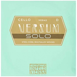 VES42 Versum Solo Отдельная струна D/Ре для виолончели, металл, Thomastik
