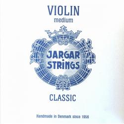 Violin-Set-Blue Classic Комплект струн для скрипки размером 4/4, среднее натяжение, Jargar Strings