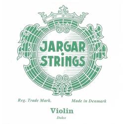 Violin-Set-Green Classic Комплект струн для скрипки размером 4/4, слабое натяжение, Jargar Strings