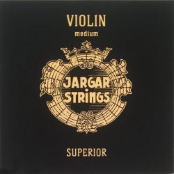Violin-Superior-Set Комплект струн для скрипки размером 4/4, среднее натяжение, Jargar Strings