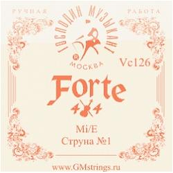 Vc-126 FORTE МИ 1-ая струна 0,26мм для скрипки, Господин Музыкант