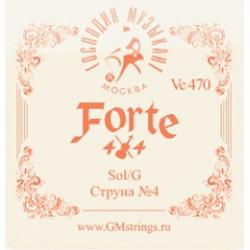 Vc-470 FORTE СОЛЬ 4-ая струна для скрипки, Господин Музыкант