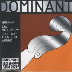 Dominant Отдельная струна E/Ми для скрипки размером 4/4, среднее натяжение, Thomastik, 130