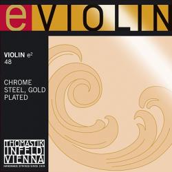 E-Violin Отдельная струна E/Ми для скрипки размером 4/4, среднее натяжение, Thomastik, 48
