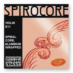 S11 Spirocore Отдельная струна А/Ля для скрипки размером 4/4, Thomastik
