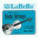 Комплект струн для альта La Bella, 640