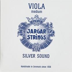 Viola-G-Silver Silver Sound Отдельная струна G/Соль для альта, среднее натяжение, Jargar Strings