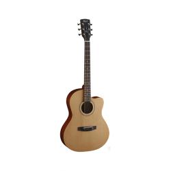 JADE1-OP Jade Series Акустическая гитара, с вырезом, цвет натуральный, Cort