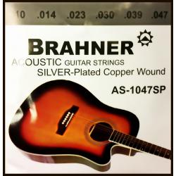 Струны для акустических гитар BRAHNER AS-1047SP
