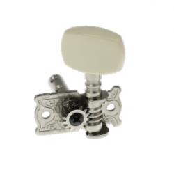 AOD-014A(L) Левый одиночный колок, никель, без втулки, Alice