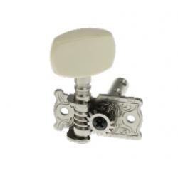 AOD-014A(R) Правый одиночный колок, никелированный, без втулки, Alice