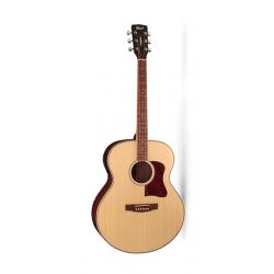 CJ-MEDX-NAT CJ Series Электро-акустическая гитара, цвет натуральный, Cort