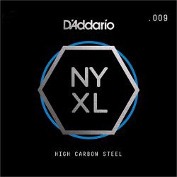 NYS009 NYXL Отдельная струна для гитары, сталь, .009, D'Addario