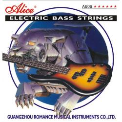 A606(4)-M Комплект струн для бас-гитары, никель, 45-105 [10] Alice