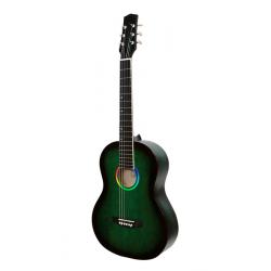 M-313-GR Акустическая гитара, зеленая, Амистар
