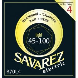 HEXAGONAL EXPLOSION Струны для бас гитар SAVAREZ B70L4